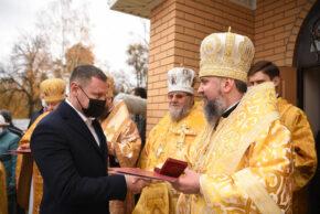 Нардеп Максим Гузенко отримав орден від Митрополита Єпіфанія